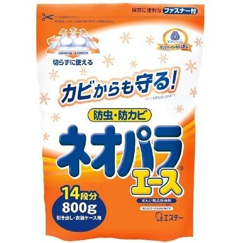 ネオパラエース 引き出し・衣装ケース用 [せんい製品防虫剤 800g]