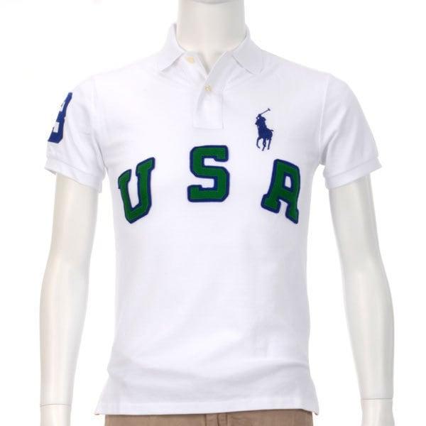 ポロシャツ 半袖 XS 010 WHITE [XSサイズ ホワイト]