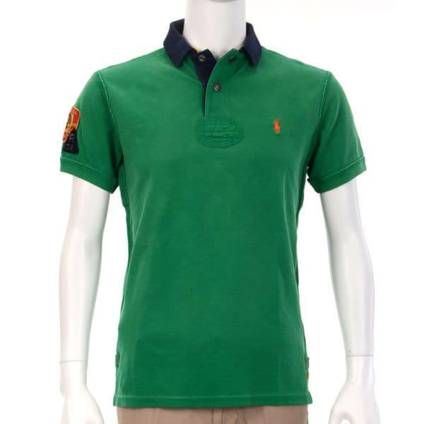 ポロシャツ 半袖 XS 036 GREEN [XSサイズ グリーン]