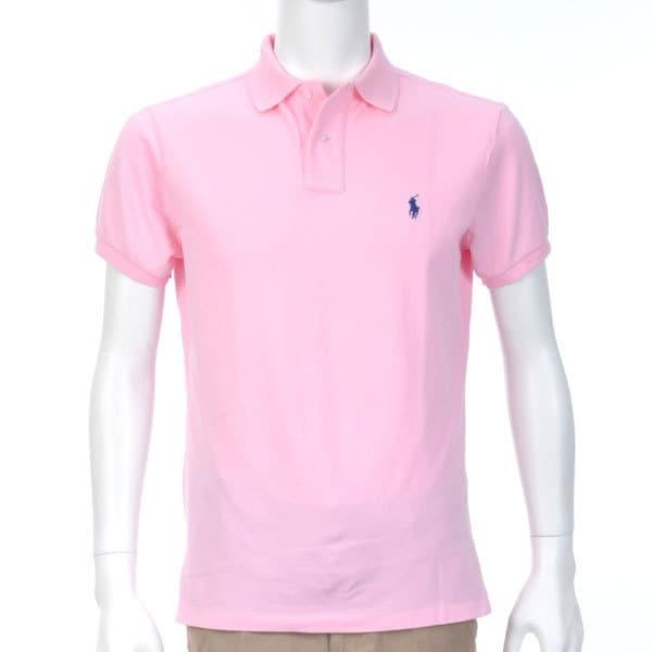 ポロシャツ 半袖 S D53 PINK [Sサイズ ピンク]