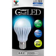 LDA4N-H-E17 [LED電球 E17口金 昼白色 Gball]