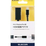 AD-MDPHDMIBK [Mini DisplayPort用 HDMI変換アダプタ ブラック]