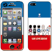 ZA-0163-IP05 [SOCCER JUNKY(サッカージャンキー)×Gizmobies(ギズモビーズ)/MADE IN FRANCE iPhone SE/5s/5用]