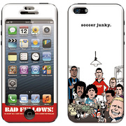 ZA-0160-IP05 [iPhone SE/5s/5用 プロテクター SOCCER JUNKY(サッカージャンキー)×Gizmobies(ギズモビーズ) BADBOYS]