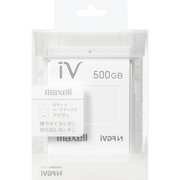 M-VDRS500G.E.WH [カセットハードディスク アイヴィ 500GB ホワイト]