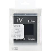 M-VDRS1T.E.BK [カセットハードディスク アイヴィ 1TB ブラック]