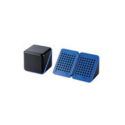 ASP-SMP220BBK [電池式ポータブルスピーカー ブルー×ブラック]
