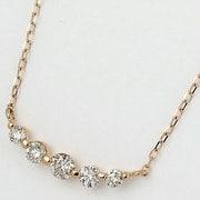 FPN189901P [ネックレス 18Kピンクゴールド ダイヤモンド0.3ct]