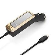 PG-LFM24A01GD [Lightningコネクタ専用iPhone/iPod/iPad対応FMトランスミッター ゴールド]