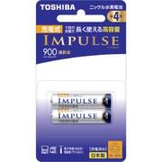 TNH-4AH 2P [ニッケル水素電池 IMPULSE(インパルス) 高容量タイプ 単4形 2本]