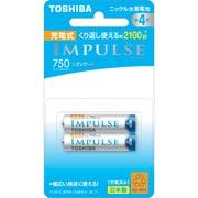 TNH-4ME 2P [ニッケル水素電池 IMPULSE(インパルス) スタンダードタイプ 単4形 2本]