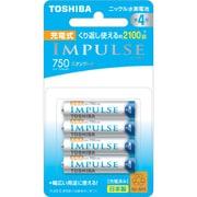 TNH-4ME 4P [ニッケル水素電池 IMPULSE(インパルス) スタンダードタイプ 単4形 4本]