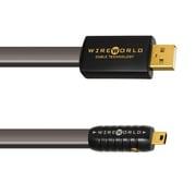 SUM7/1.0m [Silver Starlight 7 USBケーブル A-miniBタイプ 1.0m]