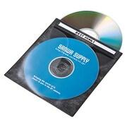 FCD-FN100BKN [DVD CD不織布ケース 100枚入り ブラック]