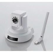 NCC-EWNP100WH [無線ネットワークカメラ 433+150Mbps 11ac パンチルト+ナイトビジョン+LEDドングル対応機能搭載]