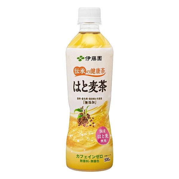 伝承の健康茶 はと麦茶 [PET 500ml×24本]