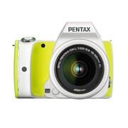 K-S1 Sweets Collection レンズキット ライムパイ [ボディ+交換レンズ「smc PENTAX-DA L18-55mm F3.5-5.6AL(ホワイト)」]