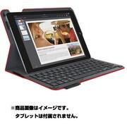iK1051RD [ロジクール キーボード一体型保護ケース for iPad Air 2 レッド Type+]