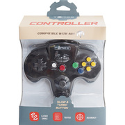 N64 Tomee Controller ブラック [任天堂64専用コントローラー]