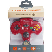 N64 Tomee Controller レッド [任天堂64専用コントローラー]