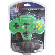 N64 Tomee Controller グリーン [任天堂64専用コントローラー]