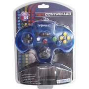 N64 Tomee Controller ブルー [任天堂64専用コントローラー]