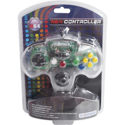 N64 Tomee Controller クリア [任天堂64専用コントローラー]