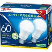 LDA7N-G-K/60W-2P [LED電球 E26口金 昼白色 810lm E-CORE(イー・コア) 2個入]
