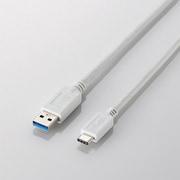 USB3-APAC10WH [USB3.1ケーブル A-TypeC 1m ホワイト]