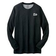DU-3204S [ブレスマジック クルーネックシャツ(厚手) ブラック M]