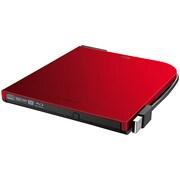 BRXL-PT6U2V-RD [BDXL対応 USB2.0用ポータブルブルーレイドライブ スリムタイプ レッド]