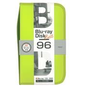BD-080-96LY [Blu-ray/DVD/CD用 ディスクケース 96枚 ライムイエロー]