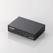 EHC-G05MN-HJB [Giga対応 スイッチングHub 5ポート 電源内蔵 メタルケース ブラック]