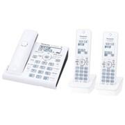 VE-GDW54DW-W [デジタルコードレス電話機 RU・RU・RU 子機2台付き ホワイト]