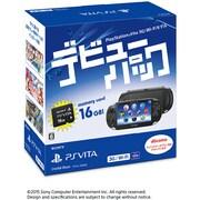 PlayStation Vita デビューパック 3G/Wi-Fiモデル クリスタル・ブラック [PS Vita本体 PCHJ-10026]