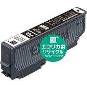 ECI-E70L-B [エプソン ICBK70L 互換リサイクルインクカートリッジ ブラック]