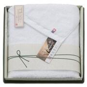 YN3539 [今治タオル 矢野紋織謹製 白たおる バスタオルセット]