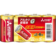 LR14GD/4S [アルカリ乾電池 アルカリG 単2形 4個入]