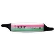 491-160 [tapir(テイパー) ツインハイライター 2色蛍光マーカー ピンク/グリーン]