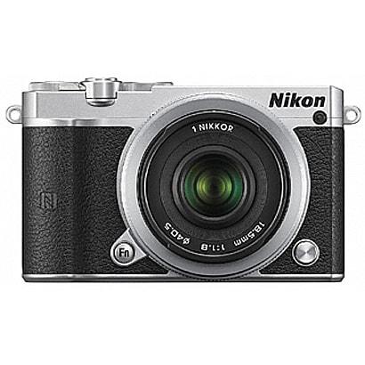 Nikon 1 J5 ダブルレンズキット シルバー [ボディ+交換レンズ「NIKKOR VR 10-30mm f/3.5-5.6PD-ZOOM シルバー」「NIKKOR VR18.5mm f/1.8 シルバー」]