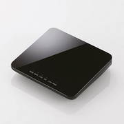 WRH-733GBK [11ac 433Mbps ギガ対応ホテルルーター 11ac.n.a.g.b/433+300Mbps ブラック]