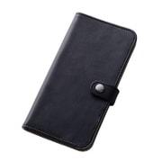 RT-SC05GLBC6/B [Galaxy S6専用 シンプルブックレザーケース 合皮 ブラック]
