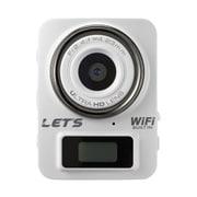 L-MC4K-W [超ミニカメラ 4K&Full HD Wi-Fi搭載 白]