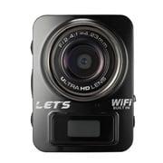 L-MC4K-BK [超ミニカメラ 4K&Full HD Wi-Fi搭載 黒]