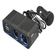 CE-383 [リングライトソケットツイン+USB コードタイプ 12/24V]