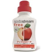 SSS0053 [ソーダストリーム用シロップ フリー アップル&ピーチ]