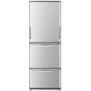 SJ-WA35B-S [冷蔵庫 (350L・つけかえどっちもドア) 3ドア シルバー系]