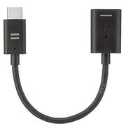 SB-CA37-CA01/BK [USB2.0変換アダプタ 0.1m Type-C to Type-A ブラック]