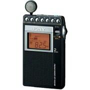 ICF-R354M C [片耳巻取り FM/AM シンセサイザーラジオ 名刺サイズ ワイドFM対応]