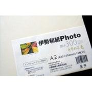 kt300A2 [伊勢和紙Photo とりのこ色 A2 10枚]
